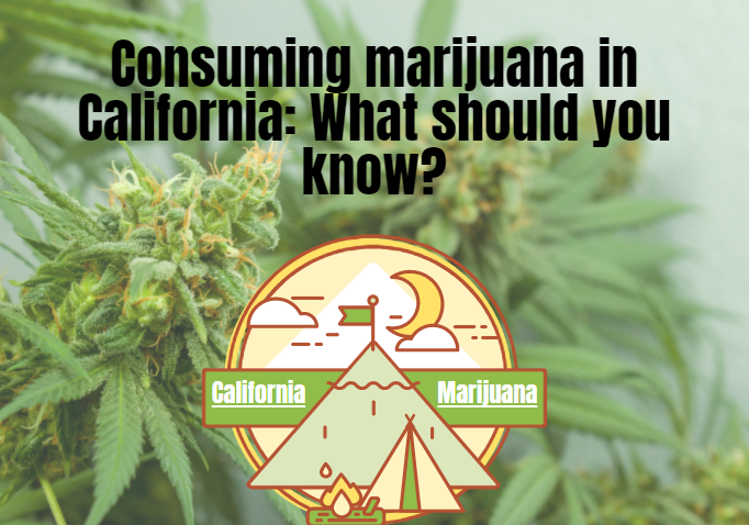 Consuming marijuana in California: What should you know?