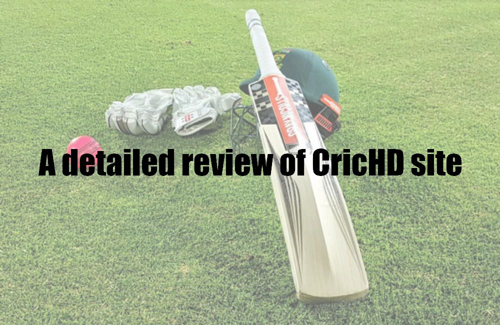 A detailed review of CricHD site