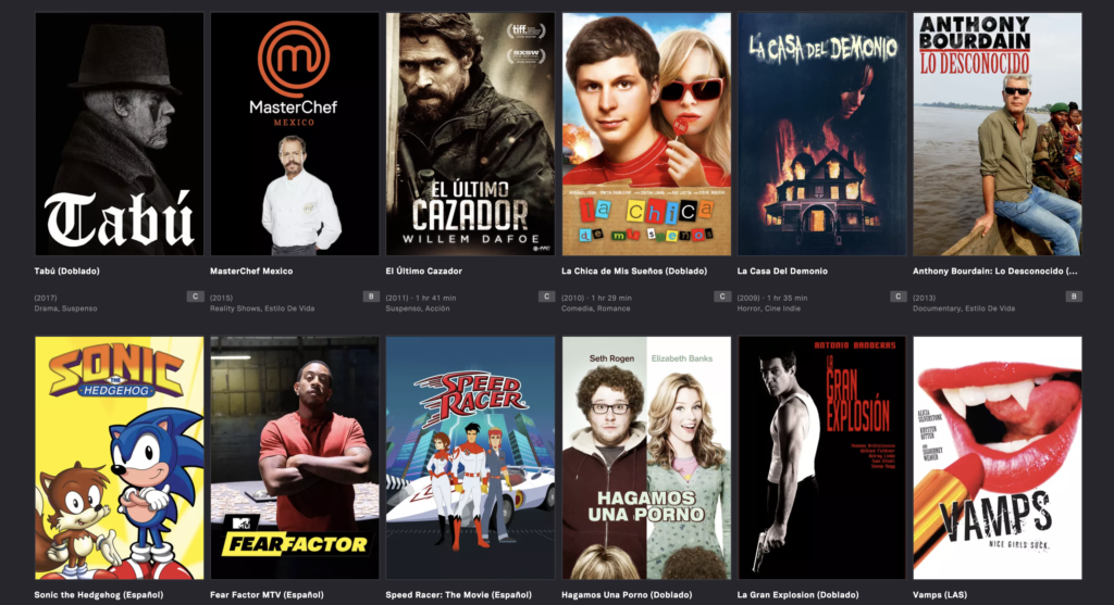 Go with unique movie source to get better streaming solution